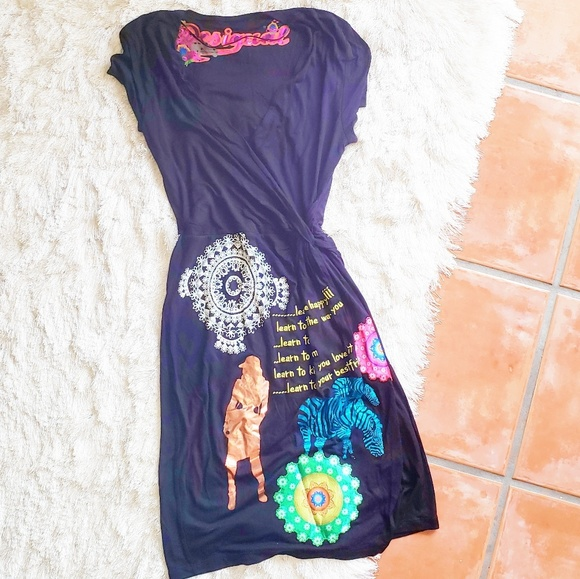 Desigual Dresses & Skirts - Desigual Black Dress (NWOT)